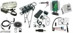E-Bike Ersatzteile + Zubehör